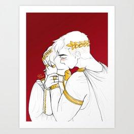 princes shiro and keith Art Print