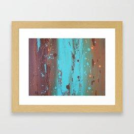 Drenched Framed Art Print