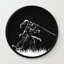 Samurai Kenshin Himura Wall Clock
