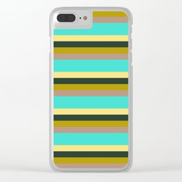 Strips Clear iPhone Case