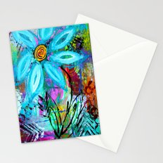 Party Flower Stationery Cards