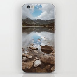 Mountain Lake - Landscape and Nature Photography iPhone Skin