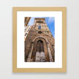 Ezio's Tower Framed Art Print