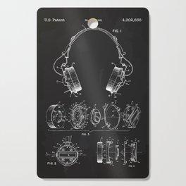Headphone patent Cutting Board