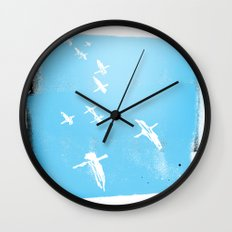 Flock of Birds Wall Clock
