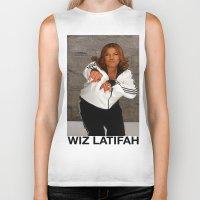 wiz khalifa Biker Tanks featuring Wiz Latifah by 6triangles