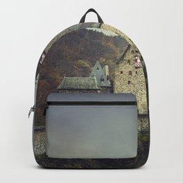 Eltz castle panoramic shot Backpack