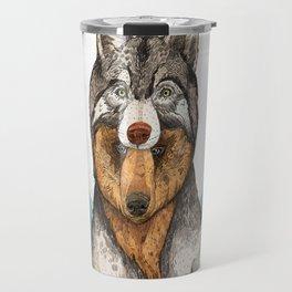 Wear Wolf Travel Mug