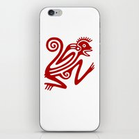 monkey iPhone & iPod Skins featuring Monkey by Fernando Vieira