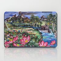 serenity iPad Cases featuring Serenity by Art of Leki