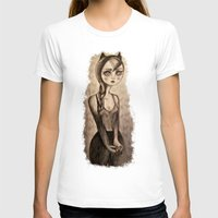 catwoman T-shirts featuring Catwoman by Anna Kavehmehr