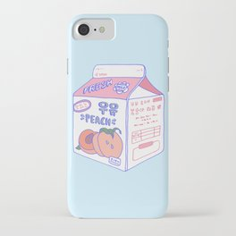 Peach Milk iPhone Case