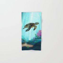 Sea Turtle Hand & Bath Towel