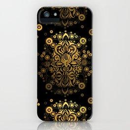 Sea treasure (gold) iPhone Case