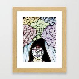 DAY OF TH FLOWER Framed Art Print