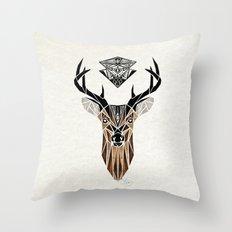 oh deer! Throw Pillow