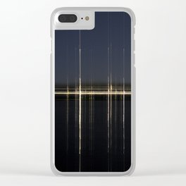 Transposed scenery - Suburb by the lake 2 Clear iPhone Case