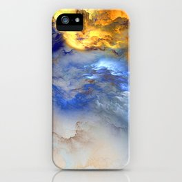 Chill Clouds iPhone Case