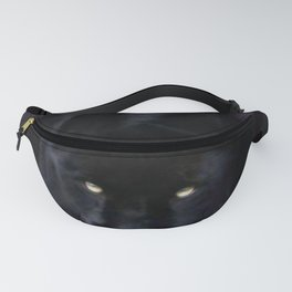 Black Panther On A Midnight Prowl Fanny Pack