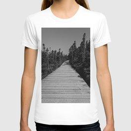 walkway through the trees T-shirt