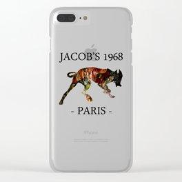 Mad Dog I Jacob's 1968 fashion Paris Clear iPhone Case