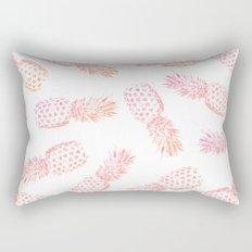Pink Pineapples Rectangular Pillow