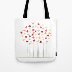 Delicate Blooms Tote Bag