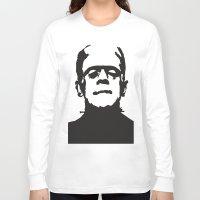 frankenstein Long Sleeve T-shirts featuring Frankenstein by b & c