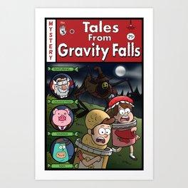 Tales from Gravity Falls Art Print