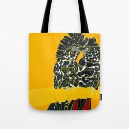 Red-tailed Black Cockatoo pair Tote Bag