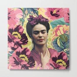 Frida Kahlo VII Metal Print