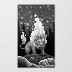 Roaring Fire Canvas Print