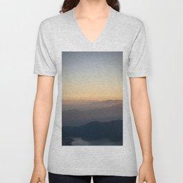 Mountain Mist Unisex V-Neck
