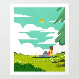 How to be Happy IV Art Print