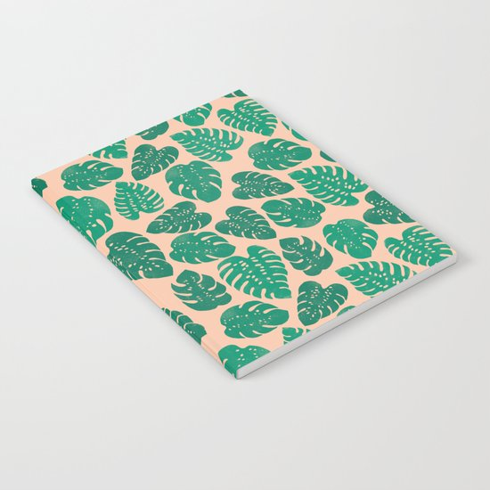 Cheese Plant - Trendy Hipster art for dorm decor, home decor, ferns, foliage, plants Notebook