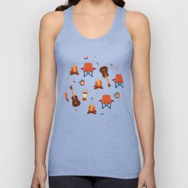 Outdoor Summer Camping Unisex Tank Top