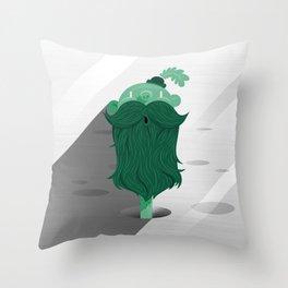 Mr. Natural Throw Pillow
