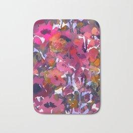 Poppy Patch Tapestry Bath Mat
