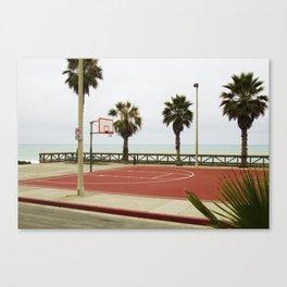 ball near the shore Canvas Print