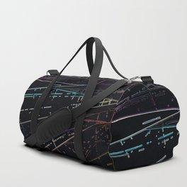 Neon Disco Duffle Bag