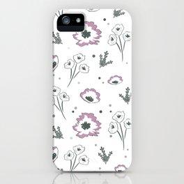 Mellow Mauve iPhone Case