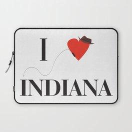 I heart Indiana Laptop Sleeve