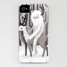 Winter Snow Slim Case iPhone (4, 4s)