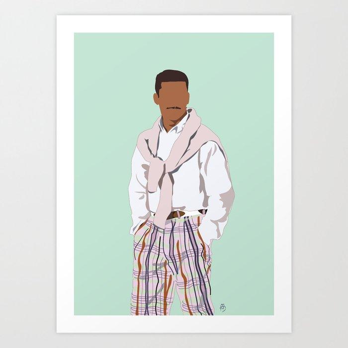 Carlton Banks - Stay Fresh Art Print