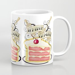 Let Them Eat Cake Vintage Tattoo Style Coffee Mug