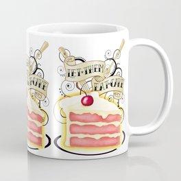 Let Them Eat Cake Vintage Tattoo Style Coffee Mug