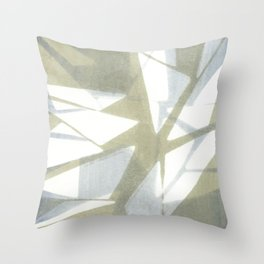 Triangle Pattern 1 Throw Pillow
