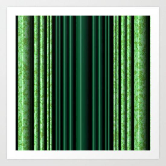 Jade/Green Art Print