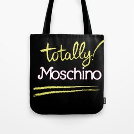 Totally Moschino Black Tote Bag