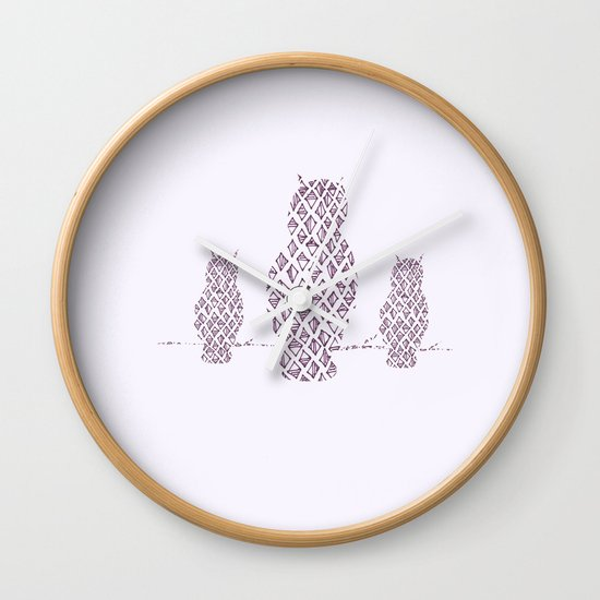 What a Hoot Wall Clock